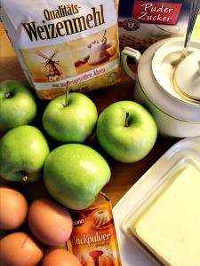 Omas Apfelkuchen Zutaten