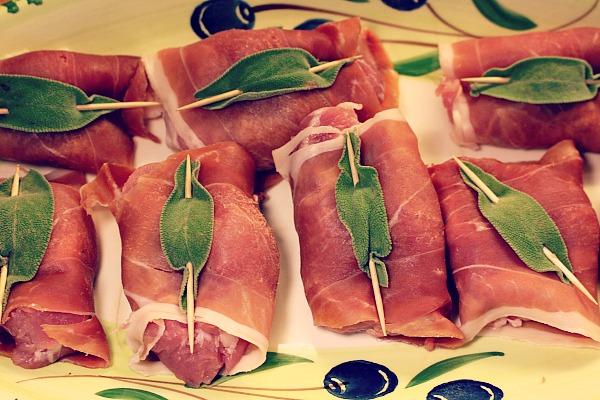 Schweinefilets mit Salbei