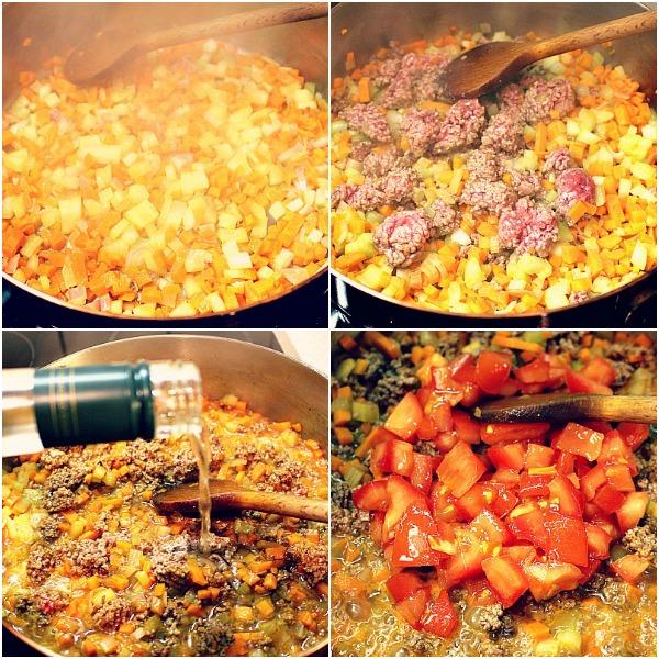 Bolognese zubereiten