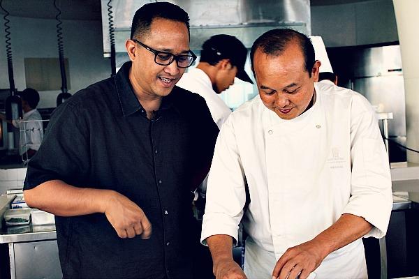 Degan und Agus Wiryawan