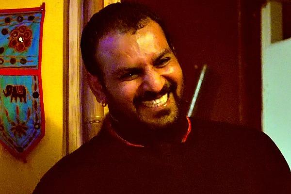 Gastgber Harjit Nagra